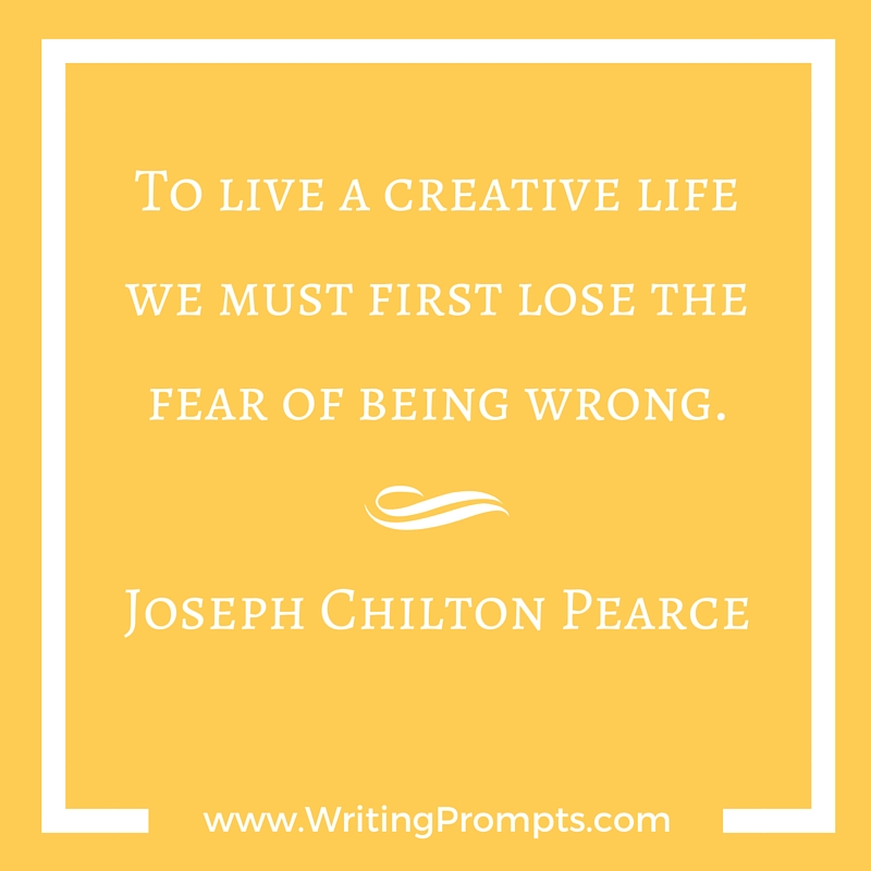 Live a creative life by Jospeh Chilton Pierce