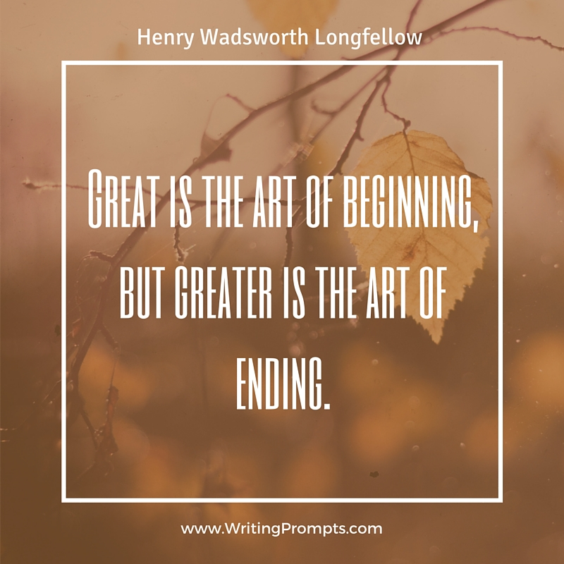 Great is the art of beginning