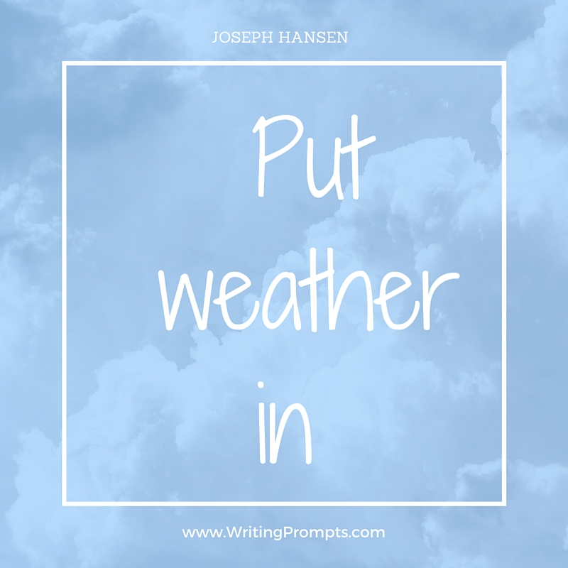Put weather in