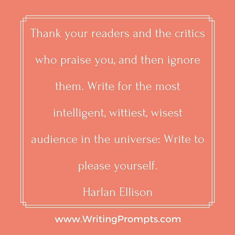 Thank your readers and the critics