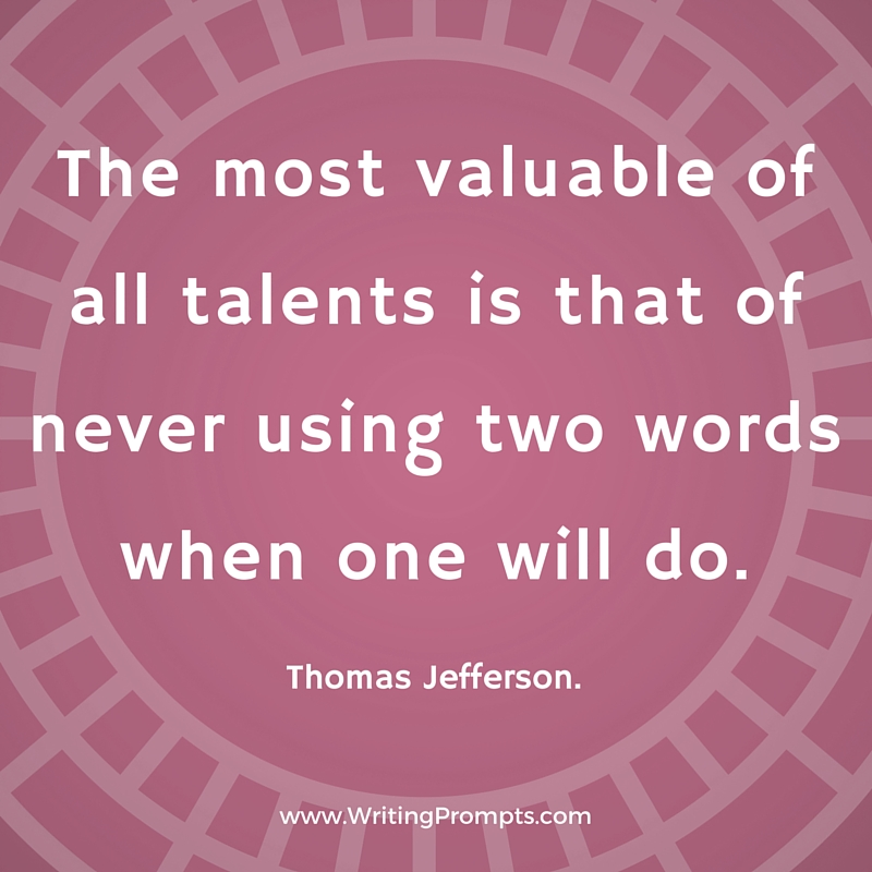 The most valuable of all talents is