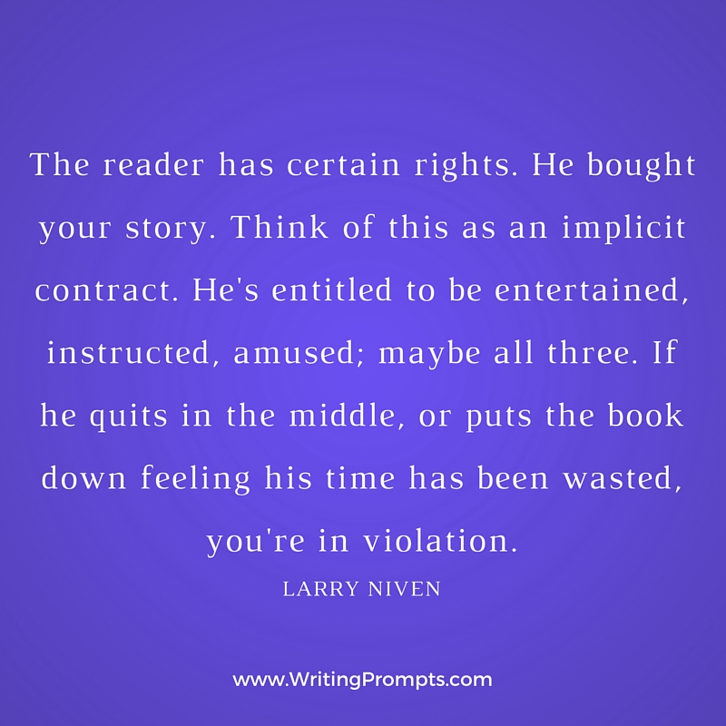 The reader has certain rights