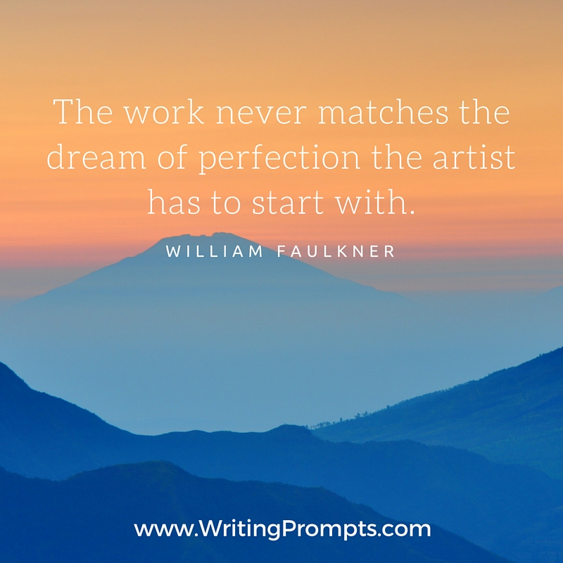 The work never matches the dream