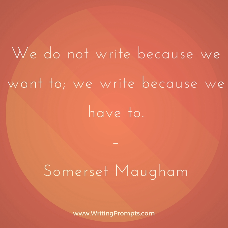 We do not write
